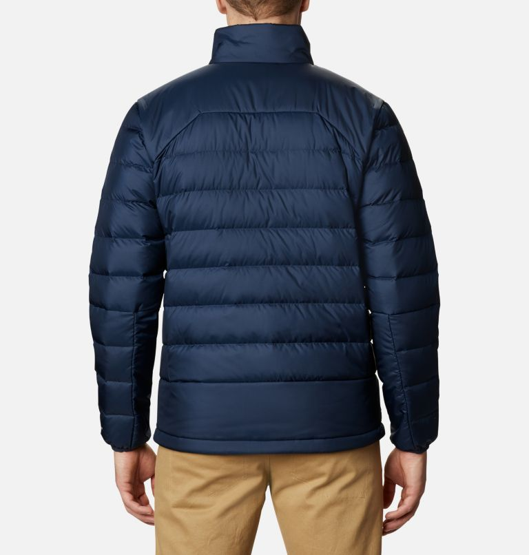 Autumn Park™ Down Jacket | 464 | 4XT Men's Autumn Park™ Down Jacket - Tall, Collegiate Navy, back