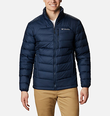 Men's Autumn Park™ Down Jacket - Tall Autumn Park™ Down Jacket | 397 | 2XT, Collegiate Navy, front