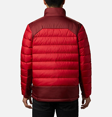 Men's Autumn Park™ Down Jacket - Tall Autumn Park™ Down Jacket | 397 | 2XT, Mountain Red, Red Jasper, back