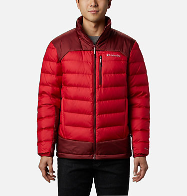 Men's Autumn Park™ Down Jacket - Tall Autumn Park™ Down Jacket | 397 | 2XT, Mountain Red, Red Jasper, front