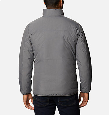 Men's Grand Wall™ Insulated Jacket Grand Wall™ Jacket | 397 | L, City Grey, back
