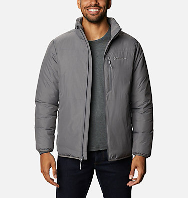 Men's Grand Wall™ Insulated Jacket Grand Wall™ Jacket | 397 | L, City Grey, front