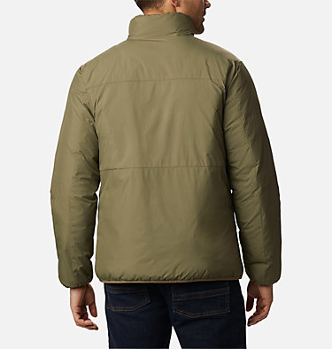 Men's Grand Wall™ Insulated Jacket Grand Wall™ Jacket | 397 | L, Stone Green, back