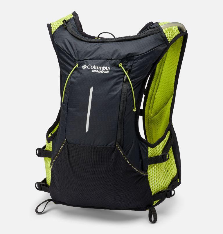 Columbia Montrail Caldorado™ 7L Vest | 010 | M/L Unisex Montrail Caldorado™ 7L Vest, Black, Bright Chartreuse, back