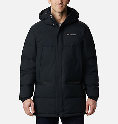 Men's Rockfall™ Down Parka Rockfall™ Down Parka | 397 | S, Black, Canvas, front