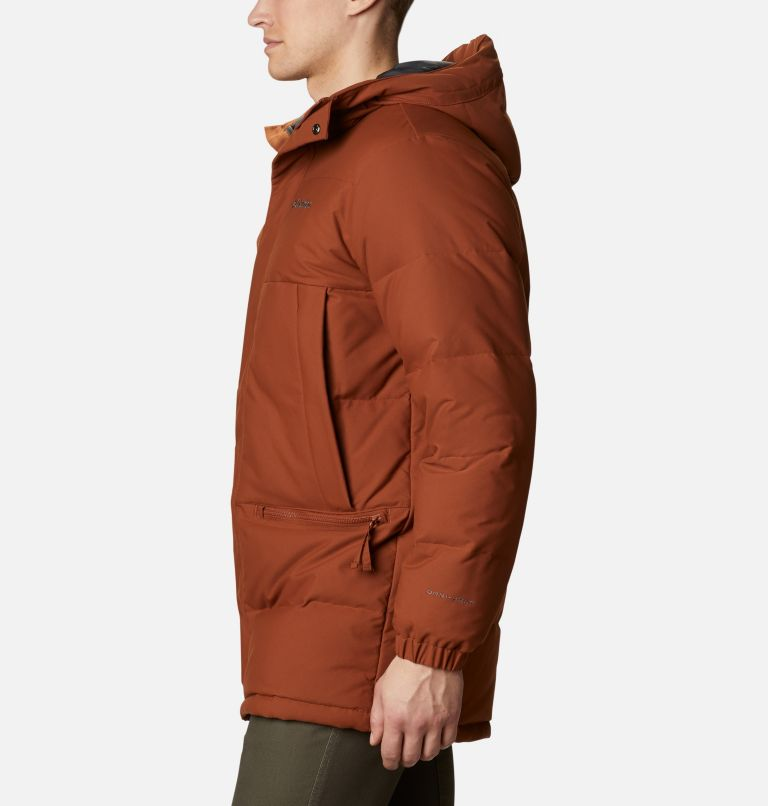 Rockfall™ Down Parka | 242 | M Men's Rockfall™ Down Parka, Dark Amber, Canvas, a1