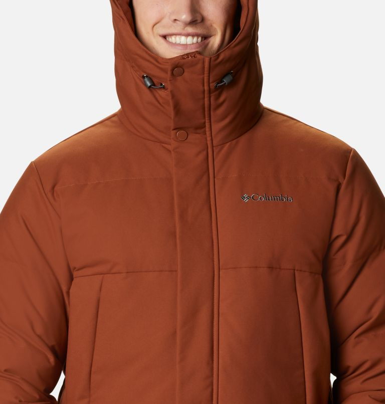 Rockfall™ Down Parka | 242 | M Men's Rockfall™ Down Parka, Dark Amber, Canvas, a2