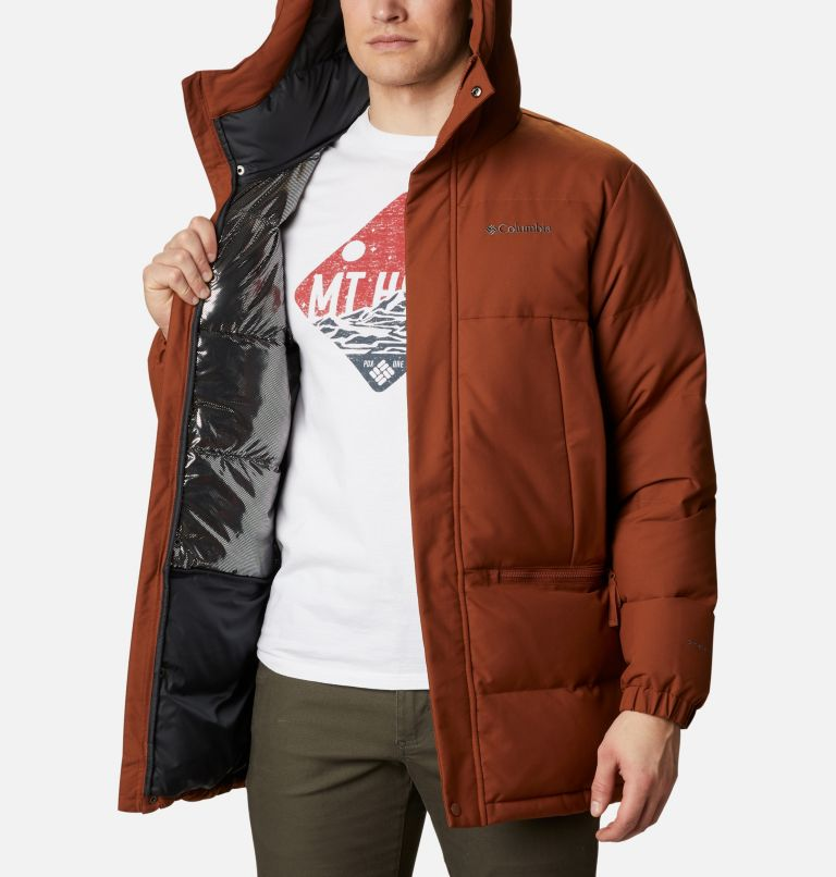 Rockfall™ Down Parka | 242 | M Men's Rockfall™ Down Parka, Dark Amber, Canvas, a3