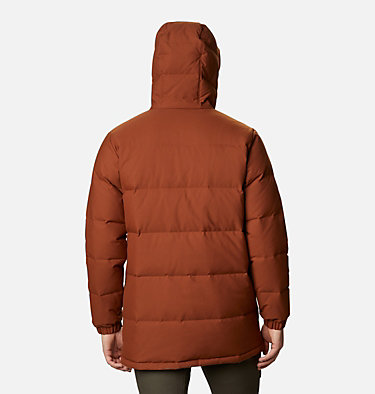 Men's Rockfall™ Down Parka Rockfall™ Down Parka | 397 | S, Dark Amber, Canvas, back