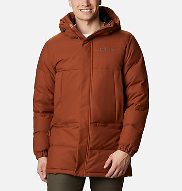 Men's Rockfall™ Down Parka Rockfall™ Down Parka | 397 | S, Dark Amber, Canvas, front