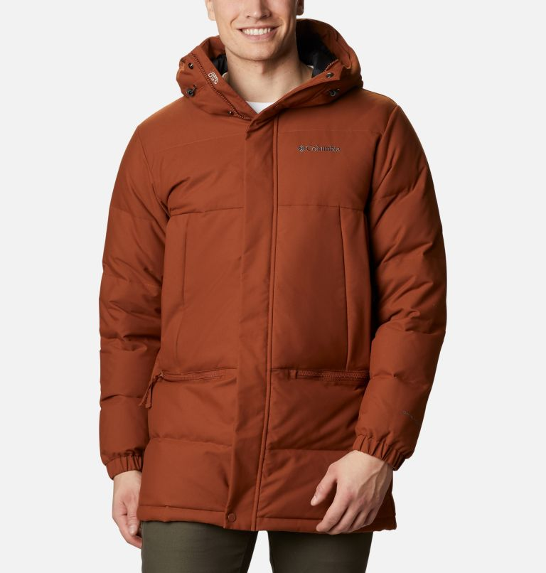 Rockfall™ Down Parka | 242 | M Men's Rockfall™ Down Parka, Dark Amber, Canvas, front