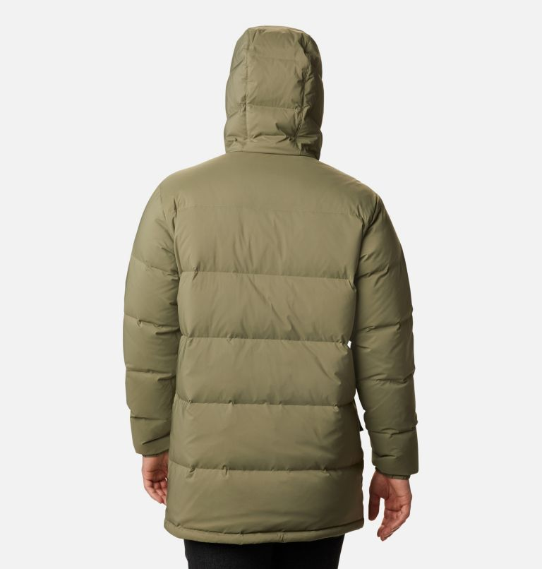 Rockfall™ Down Parka | 397 | S Men's Rockfall™ Down Parka, Stone Green, back