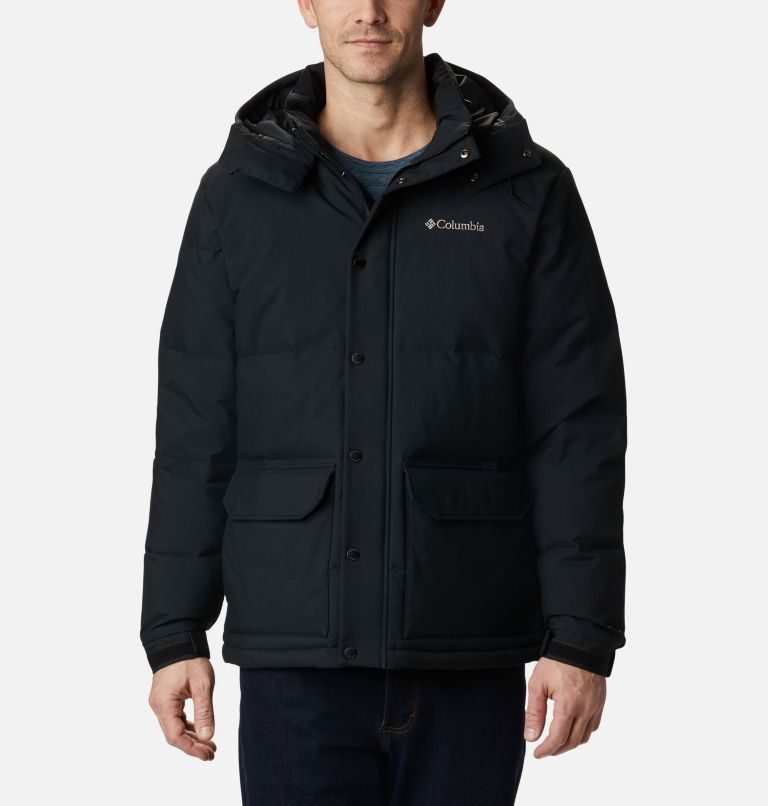 Rockfall™ Down Jacket | 011 | L Men's Rockfall™ Down Jacket, Black, Canvas, front