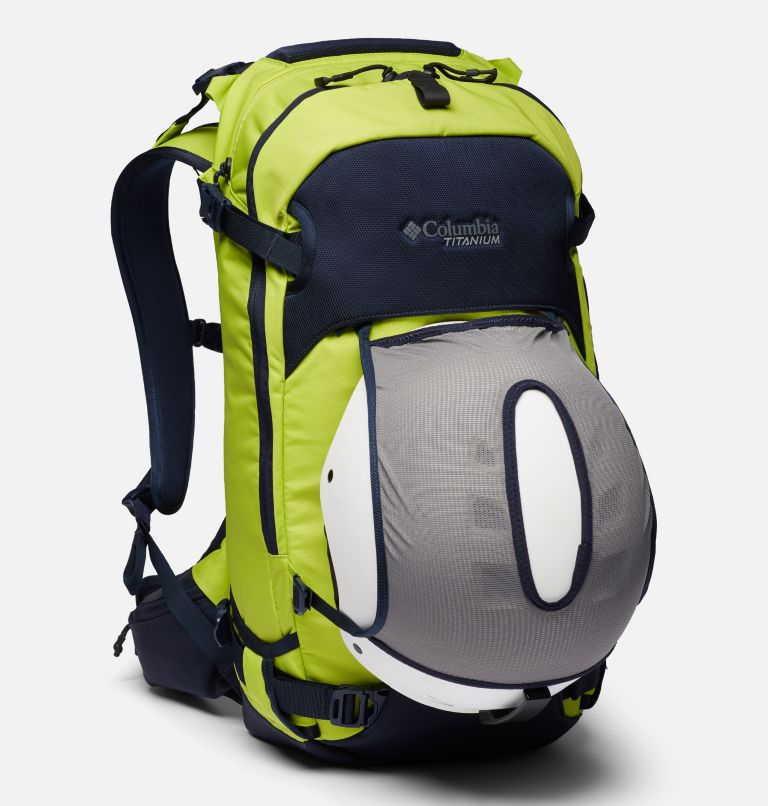 Peak Pursuit™ 32L Backpack | 386 | O/S Peak Pursuit™ 32L Backpack, Bright Chartreuse, Dark Nocturnal, a2
