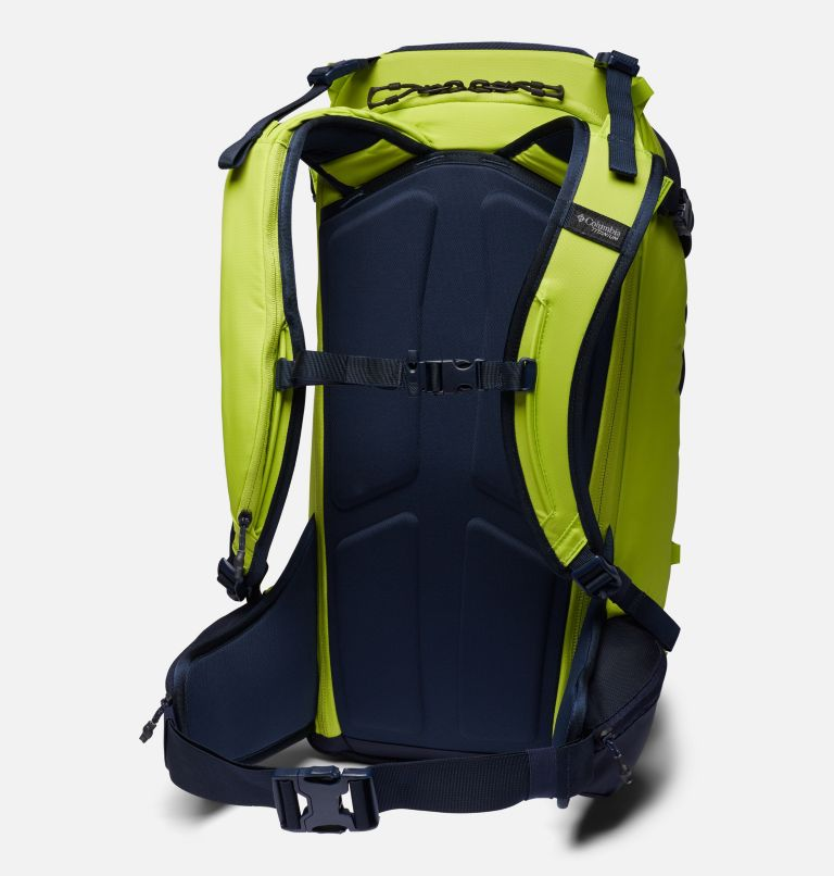 Peak Pursuit™ 32L Backpack | 386 | O/S Peak Pursuit™ 32L Backpack, Bright Chartreuse, Dark Nocturnal, back