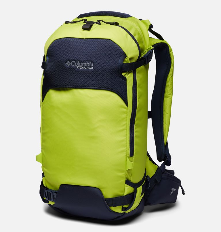 Peak Pursuit™ 32L Backpack | 386 | O/S Peak Pursuit™ 32L Backpack, Bright Chartreuse, Dark Nocturnal, front