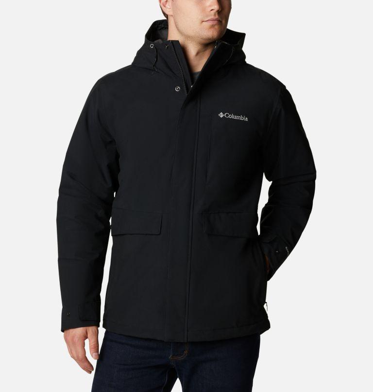 Firwood™ Jacket | 010 | LT Manteau Firwood™ pour homme - Grandes tailles, Black, front