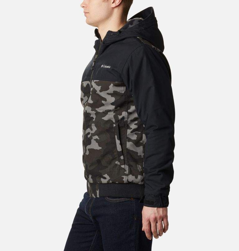 Loma Vista™ Hooded Jacket | 011 | XXL Men's Loma Vista™ Hooded Jacket, Black Traditional Camo, Black, a1