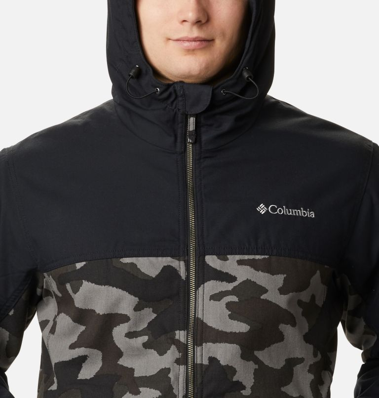 Loma Vista™ Hooded Jacket | 011 | XXL Men's Loma Vista™ Hooded Jacket, Black Traditional Camo, Black, a2