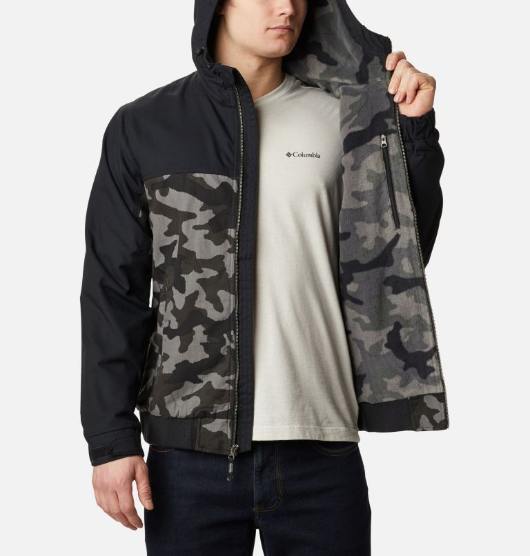 Loma Vista™ Hooded Jacket | 011 | XXL Men's Loma Vista™ Hooded Jacket, Black Traditional Camo, Black, a3