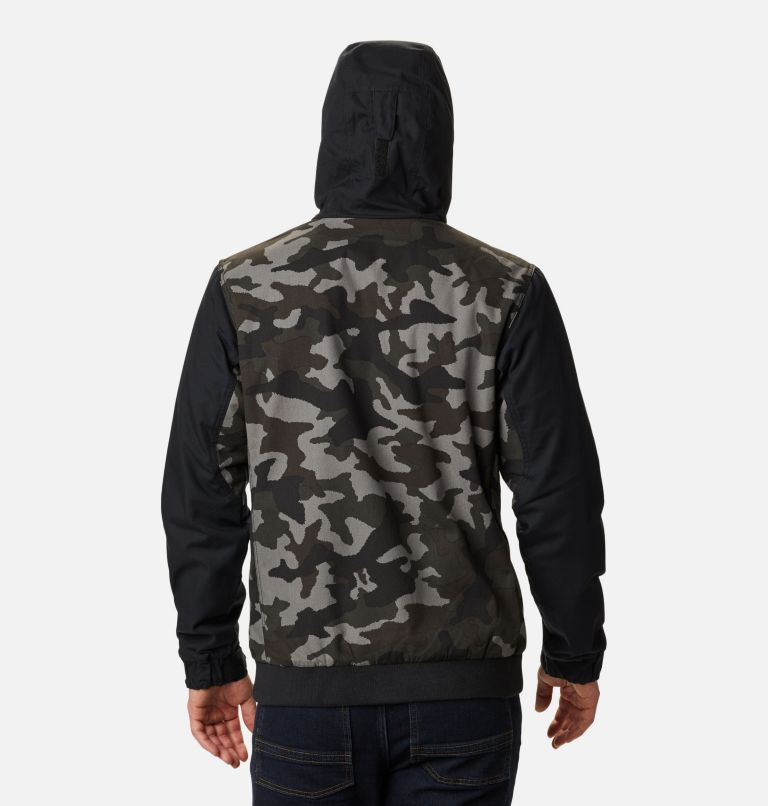 Loma Vista™ Hooded Jacket | 011 | XXL Men's Loma Vista™ Hooded Jacket, Black Traditional Camo, Black, back