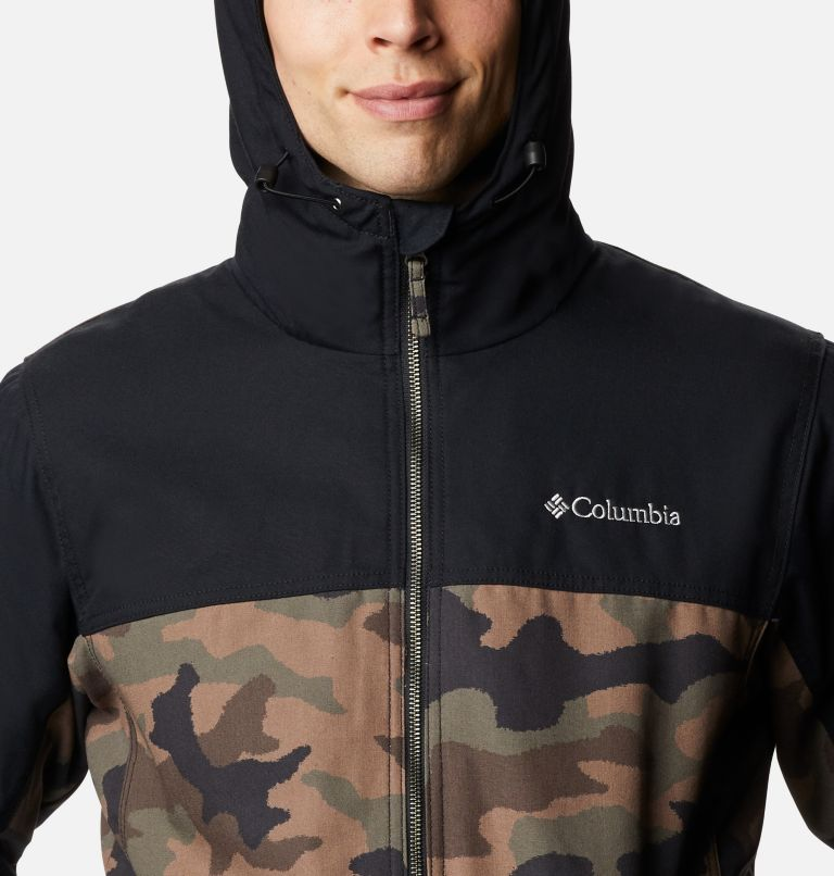 Loma Vista™ Hooded Jacket | 316 | L Men's Loma Vista™ Hooded Jacket, Cypress Traditional Camo, Black, a2