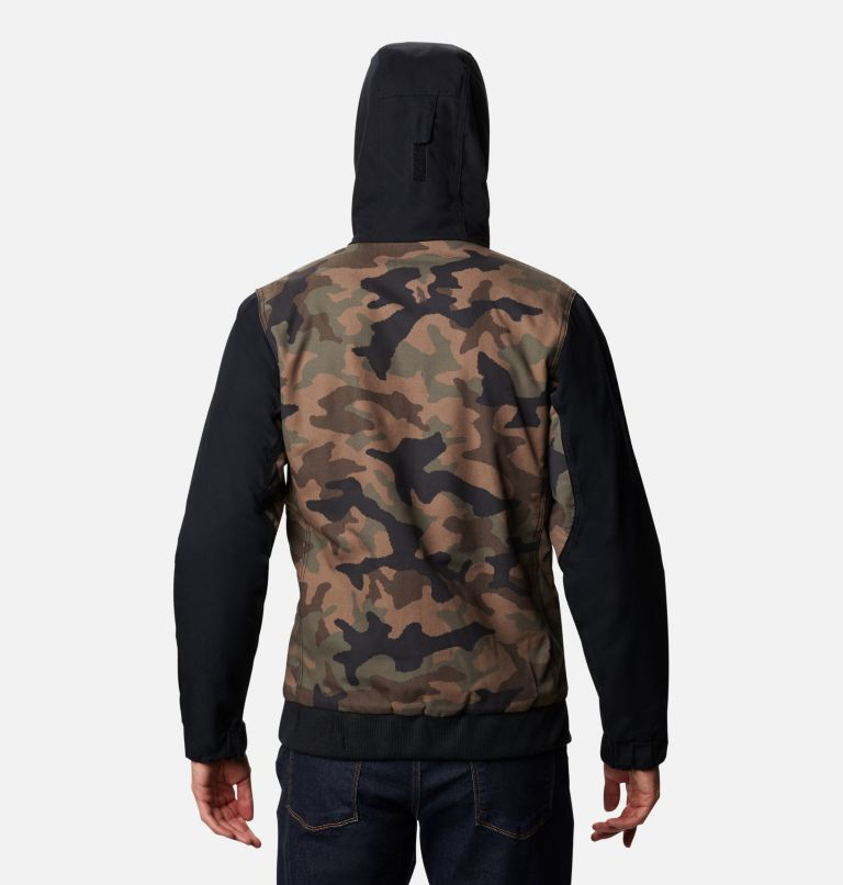 Loma Vista™ Hooded Jacket | 316 | XXL Men's Loma Vista™ Hooded Jacket, Cypress Traditional Camo, Black, back