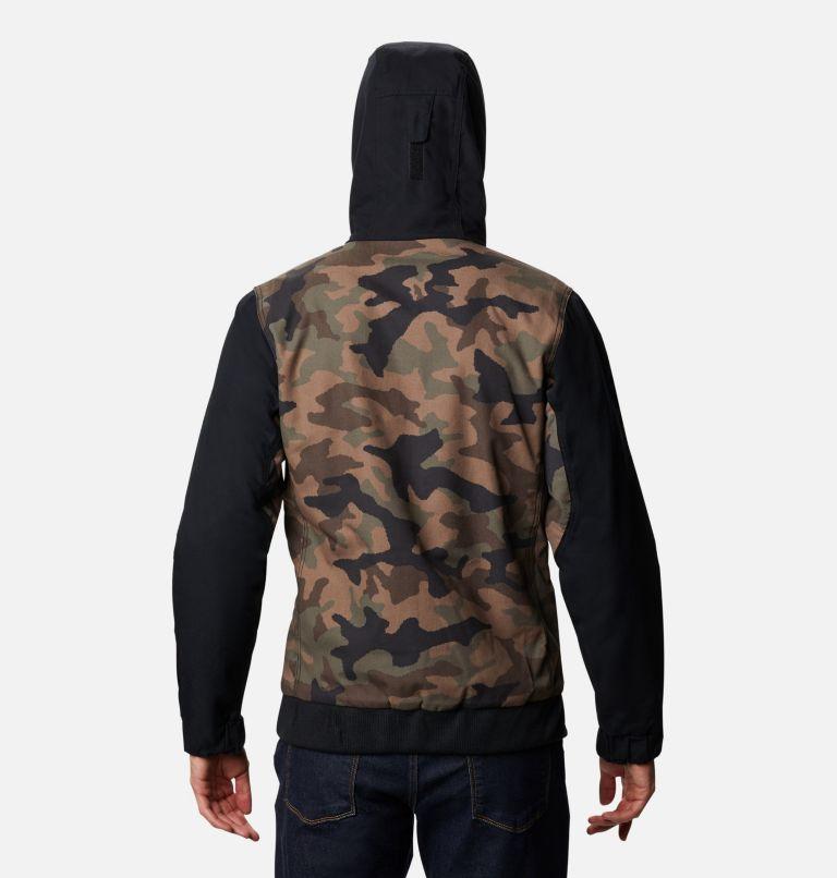 Loma Vista™ Hooded Jacket | 316 | S Men's Loma Vista™ Hooded Jacket, Cypress Traditional Camo, Black, back