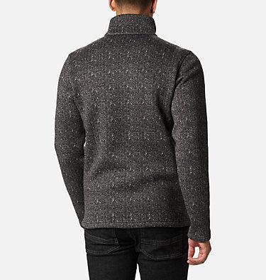 Chillin Fleecejacke für Männer M Chillin™ Fleece | 010 | XXL, Black Herringbone, back