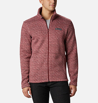 Men's Chillin Fleece Jacket M Chillin™ Fleece | 010 | XXL, Red Jasper Herringbone, front