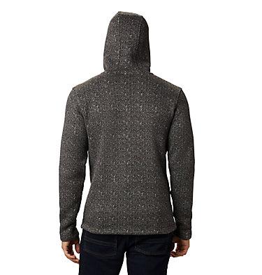 Men's Chillin™ Hooded Fleece M Chillin™ Hooded FZ Fleece | 010 | L, Black Herringbone, back