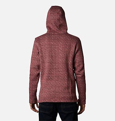 Men's Chillin™ Hooded Fleece M Chillin™ Hooded FZ Fleece | 010 | L, Red Jasper Herringbone, back