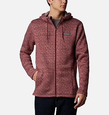 Men's Chillin™ Hooded Fleece M Chillin™ Hooded FZ Fleece | 010 | L, Red Jasper Herringbone, front