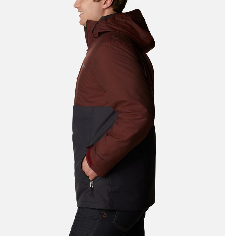 Ridge Gates™ Interchange Jacket | 013 | XL Men's Ridge Gates™ Interchange Jacket, Shark Twill, Red Jasper Slub, a1