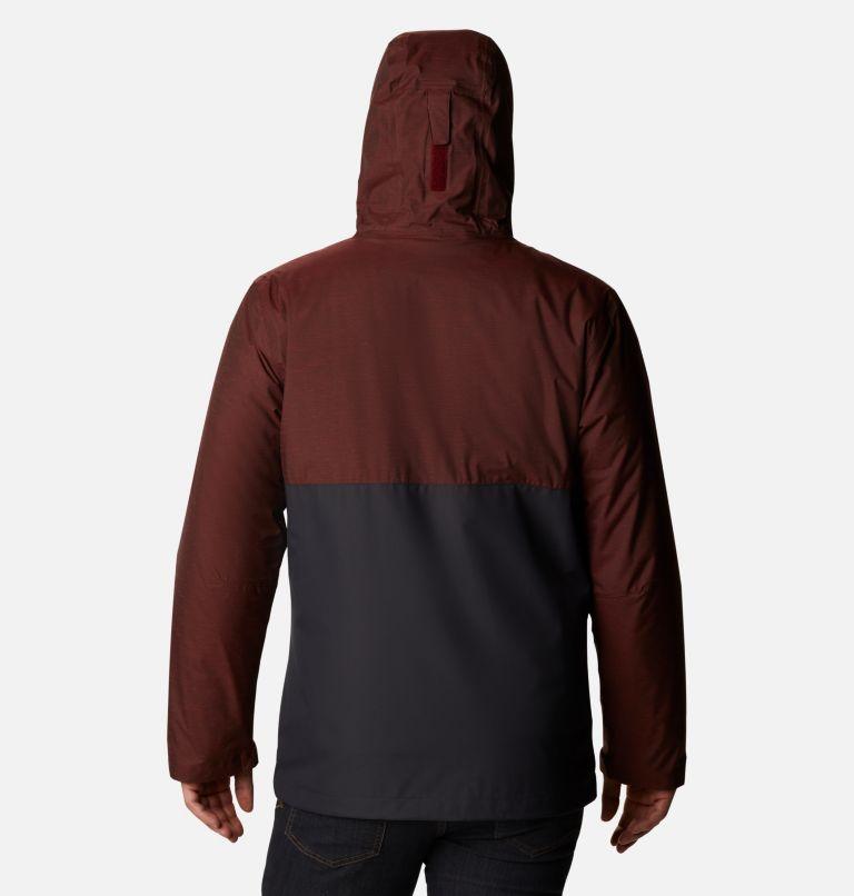 Ridge Gates™ Interchange Jacket | 013 | XL Men's Ridge Gates™ Interchange Jacket, Shark Twill, Red Jasper Slub, back