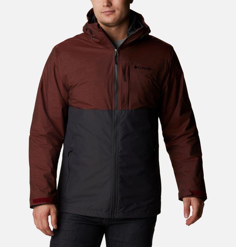 Ridge Gates™ Interchange Jacket | 013 | XL Men's Ridge Gates™ Interchange Jacket, Shark Twill, Red Jasper Slub, front