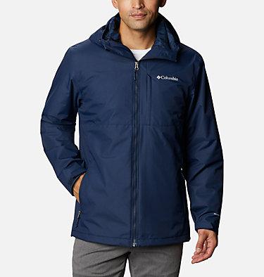 Men's Ridge Gates™ Interchange Jacket - Big Ridge Gates™ Interchange Jacket | 465 | 1X, Collegiate Navy Dobby, front