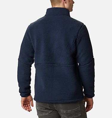 Men's Mountainside™ Heavyweight Sherpa Fleece Jacket Mountainside™ Heavyweight Fleece | 464 | XXL, Collegiate Navy, back