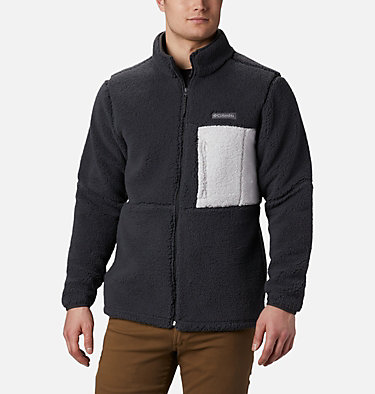 Men's Mountainside Heavyweight Fleece Jacket Mountainside™ Heavyweight Fleece | 397 | M, Shark, front