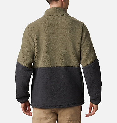 Men's Mountainside™ Heavyweight Fleece Mountainside™ Heavyweight Fleece | 397 | M, Stone Green, Shark, Ancient Fossil, back