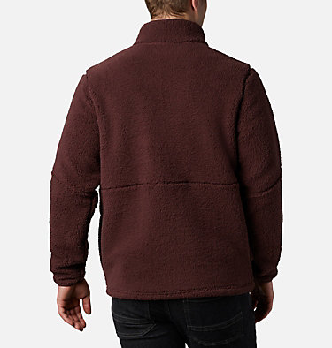 Men's Mountainside™ Heavyweight Fleece Mountainside™ Heavyweight Fleece | 397 | M, Red Lodge, Black, back