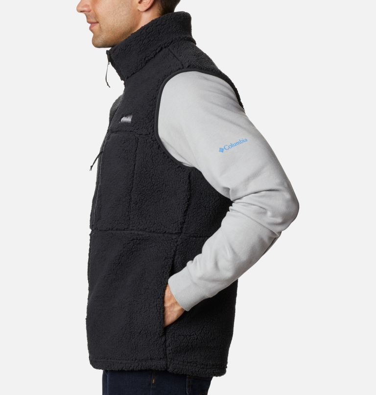 Mountainside™ Vest | 010 | L Men's Mountainside™ Sherpa Fleece Vest, Black, a1
