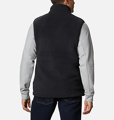 Men's Mountainside™ Sherpa Fleece Vest Mountainside™ Vest | 271 | M, Black, back