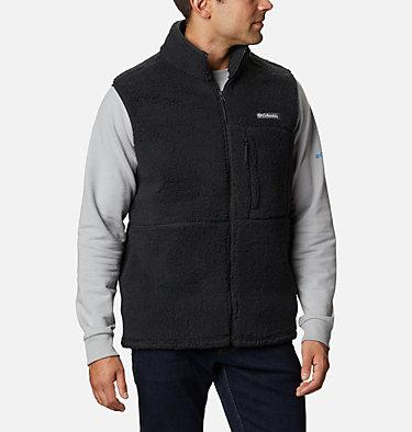 Men's Mountainside™ Sherpa Fleece Vest Mountainside™ Vest | 271 | M, Black, front
