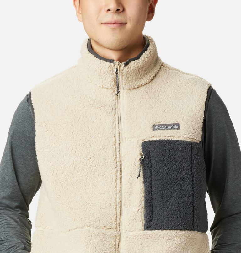 Mountainside™ Vest | 271 | XL Men's Mountainside™ Sherpa Fleece Vest, Ancient Fossil, Shark, a2