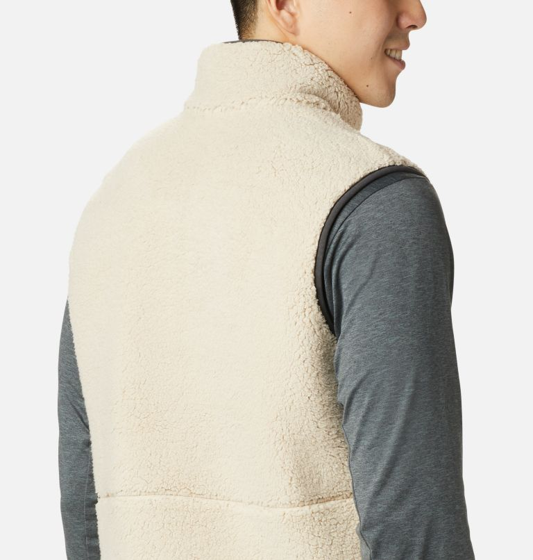 Mountainside™ Vest | 271 | XL Men's Mountainside™ Sherpa Fleece Vest, Ancient Fossil, Shark, a3