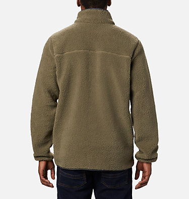 Men's Rugged Ridge™ II Sherpa Fleece Rugged Ridge™ II Sherpa Fleece | 010 | L, Stone Green, Shark, back