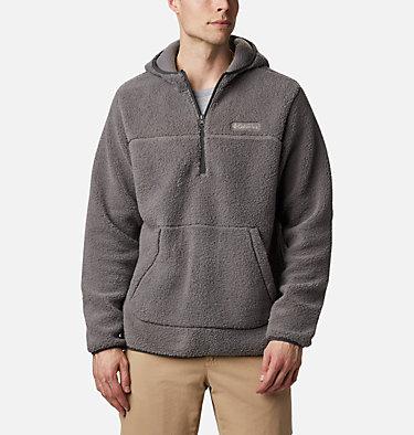 Men's Rugged Ridge™ II Hooded Sherpa Fleece Pullover Rugged Ridge™ II Sherpa Pullover Hoodie | 010 | S, City Grey, Shark, front