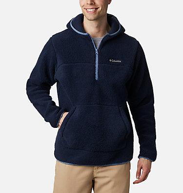 Men's Rugged Ridge™ II Hooded Sherpa Fleece Pullover Rugged Ridge™ II Sherpa Pullover Hoodie | 010 | S, Collegiate Navy, Bluestone, front