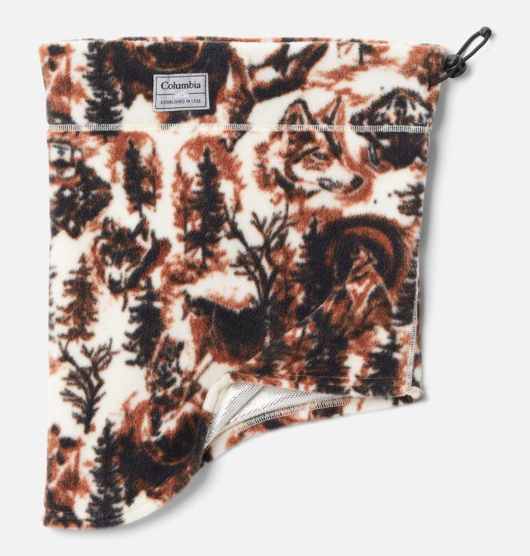 CSC™ II Fleece Gaiter | 192 | O/S CSC™ II Omni-Heat™ Fleece Gaiter, Chalk Wolfscape Print, front